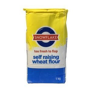 Snowflake Self Raising Wheat Flour 1kg Bag