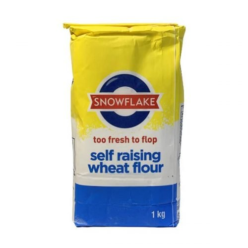 Snowflake Self Raising Wheat Flour 1kg Bag