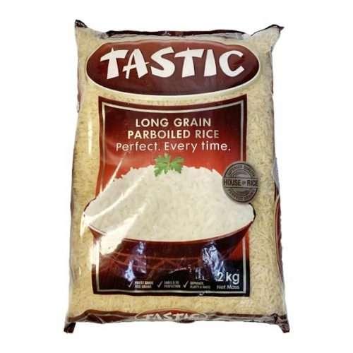 Tastic Long Grain Parboiled Rice 2kg