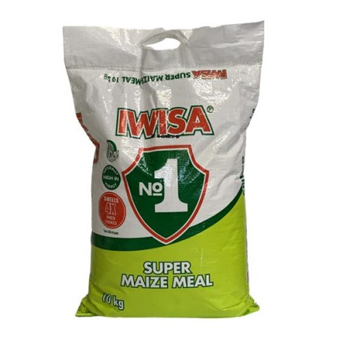 Iwisa maize meal 10kg Plastic