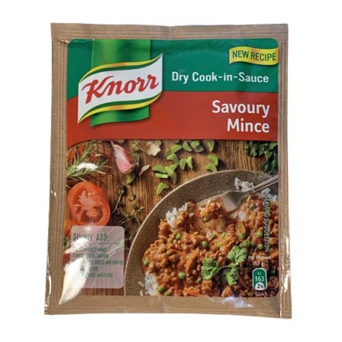 Knorr Dry Cook-in-Sauce Savoury Mince 48g sachet