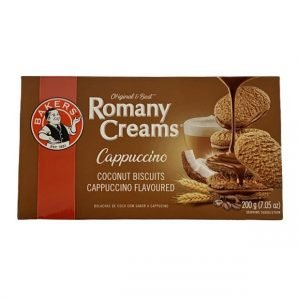 Bakers Romany Creams Cappuccino 200g pack