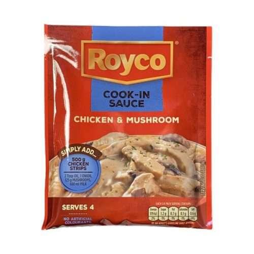 Royco Cook in Sauce Chicken & Mushroom 44g sachet