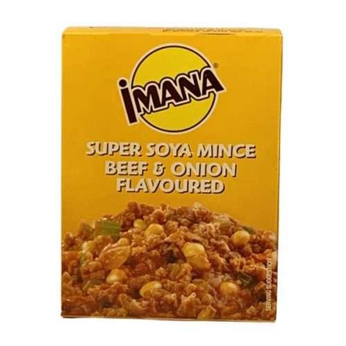 Imana Super Soya Mince Beef & Onion 100g box