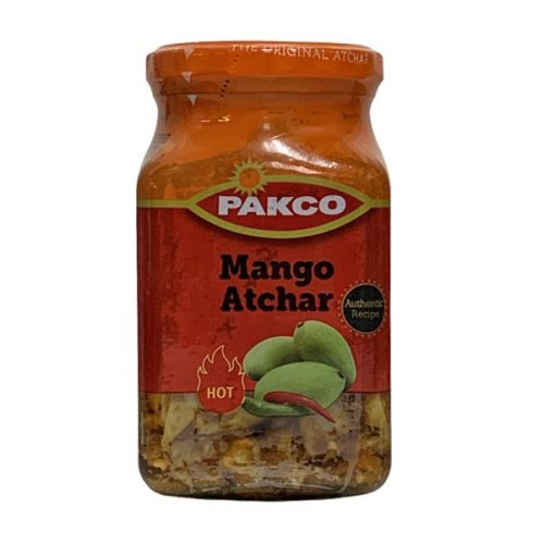 Pakco Atchar Mango Hot 385g jar