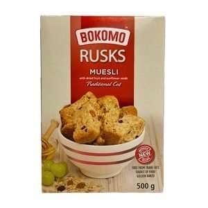 Bokomo Rusks Muesli 500g box