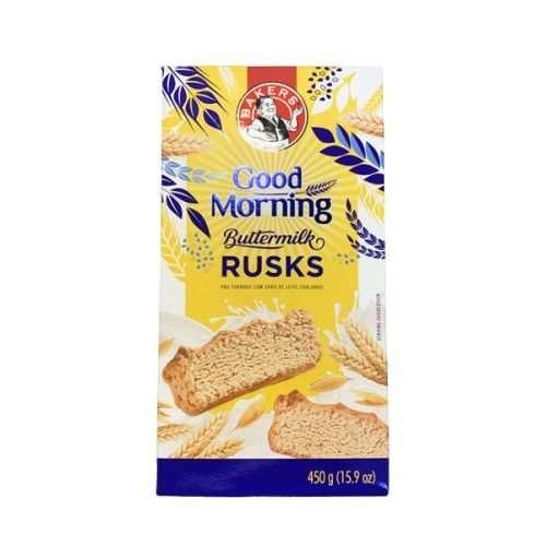 Bakers Good Morning Buttermilk Rusks 450g box