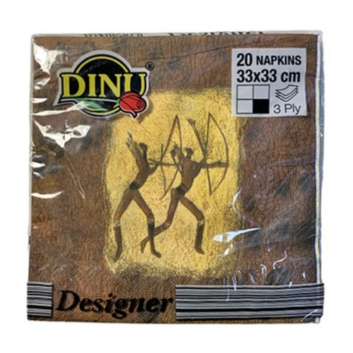 Dinu Designer Napkins Khoi San 20 units