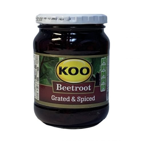 Koo Beetroot Grated & Spiced 405g jar