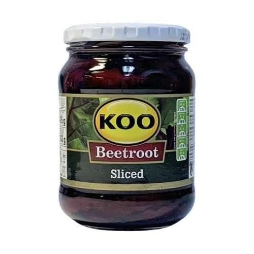 Koo Beetroot Sliced 405g jar