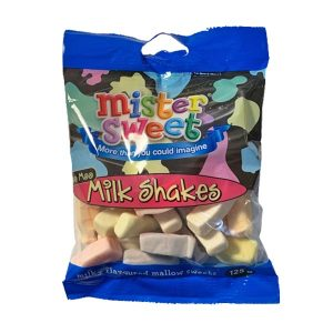 Mr Sweet Milk Shakes 125g bag