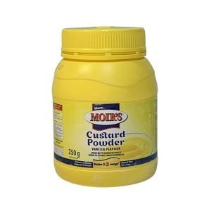 Moir's Custard Powder 250g bottle