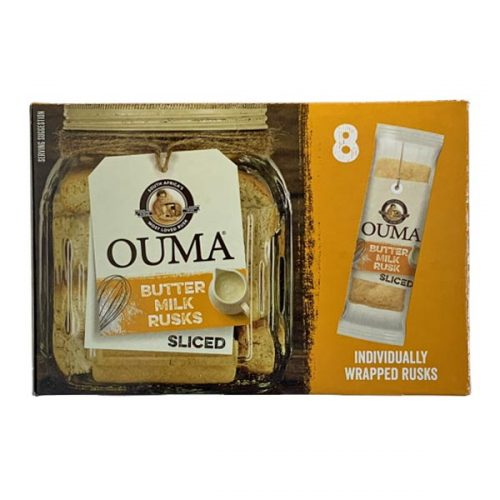 Ouma Buttermilk Sliced Individually Wrapped 8 x 30g
