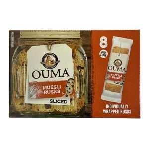 Ouma Muesli Sliced Individually Sliced 8 x 30g