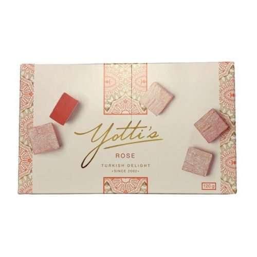 Beyers Yotti's Rose Turkish Delight 120g box