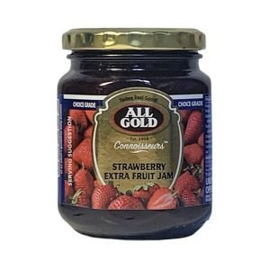 All Gold Connoisseurs Jam Strawberry Extra Fruit Jam 320g jar