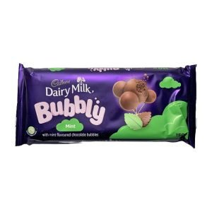 Cadbury Bubbly Mint 150g