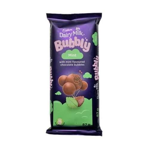 Cadbury Bubbly Mint 87g