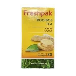 Freshpak Ginger Rooibos Teabags 20's
