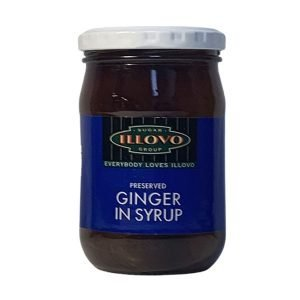 Illovo Preserved Ginger In Syrup 350g jar
