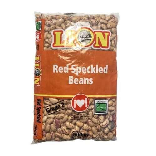 Lion Red Speckled Beans 500g bag