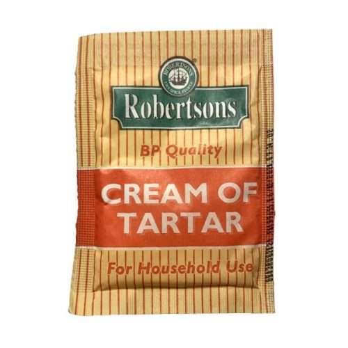 Robertsons Cream of Tartar 12g sachet