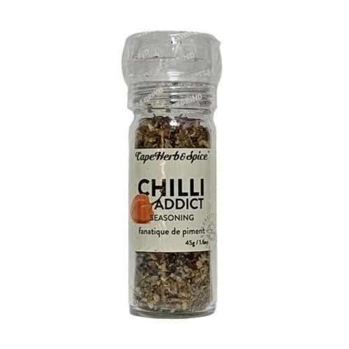 Cape Herb & Spice Grinders Chilli Addict Seasoning 45g bottle