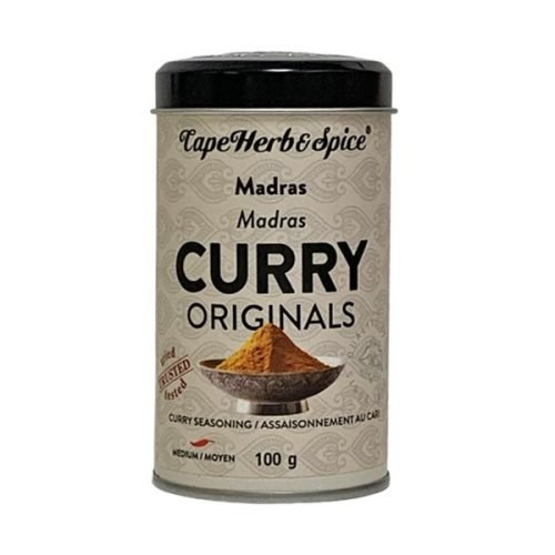 Cape Herb & Spice Curry Shakers Madras 100g tin