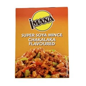 Imana Super Soya Mince Chakalaka 100g box