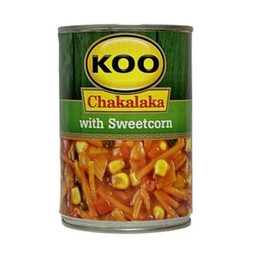 Koo Chakalaka with Sweetcorn 410g can
