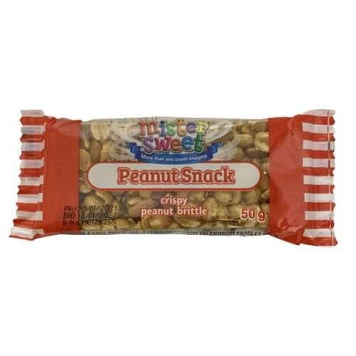 Mr Sweet Peanut Snack 50g Bar