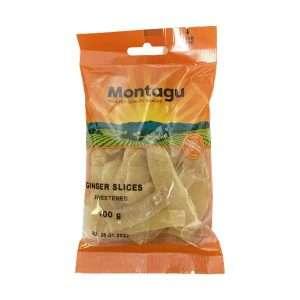 Montagu Ginger Slices 100g