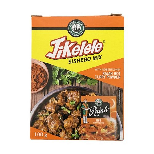Robertsons Jikelele Sishebo Mix with Rajah Hot Curry Powder 100g