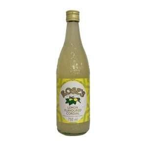 Rose's Cordial Lemon 750ml bottle