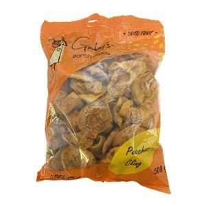 Gaby's Peaches Cling 500g bag