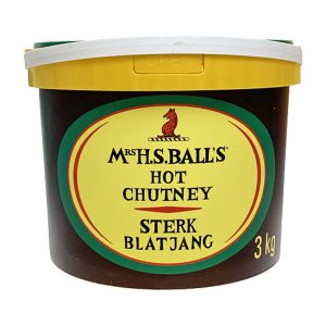 Mrs Balls Chutney Hot 3kg tub